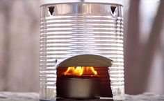 Unleash your inner survivalist with this DIY tin can stove