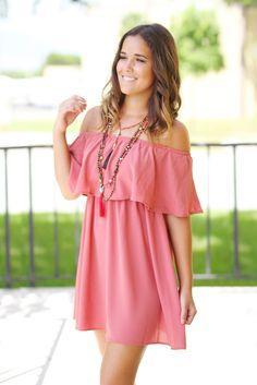 I need this omg SO CUTE - Vintage Rose Ruffle Short Dress