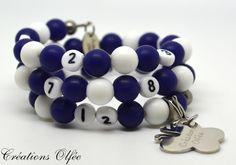 Bracelet d'allaitement OLFÉE  Billes de silicone par CreationsOlfee, $15.00