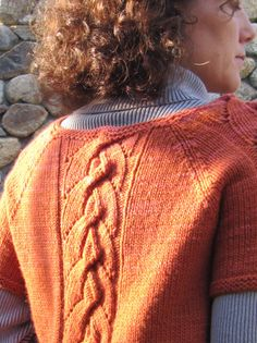 Alata pullover : Knitty Winter #knit #free_pattern