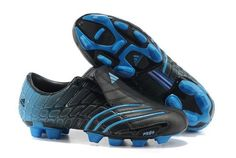94fa138f438b5 Adidas F50 TRX FG Spider Mens Firm Ground Soccer Shoes(Black and Blue)  Ronaldo