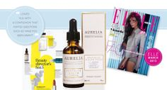 Our stunning Revitalise & Glow Serum featured in ELLE UK when we launched in 2013! x