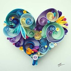 Quillspiration - Paper Quilling Valentine's Day Designs - Honey's Quilling