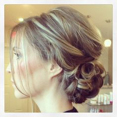 Updo, bride, hair, wedding hairstyles http://prettyweddingidea.com/bridal-hairstyles/