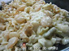 No soy un blog de cocina: GIGLI CON GAMBITAS