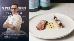"""Nicolas Fagundes Galindo, Dublin, Ireland, UK & North Europe Region – """"Flavors And Textures Of Palm And Ox Tongue"""""""