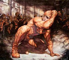 Daredevil vs. The Hand by Meador.deviantart.com on @DeviantArt