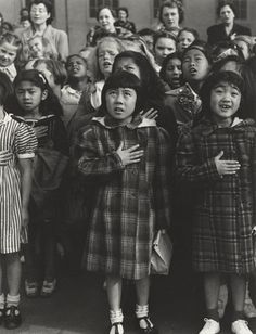 Dorothea Lange. One Nation, Indivisible, San Francisco. 1942