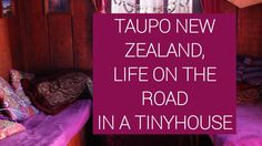Vlog Life on the road in beautiful Taupo New Zealand /Tiny House Life Taupo New Zealand, Ford Transit Connect Camper, Wall Drug, Pine Cone Tree, South Dakota Travel, Van Home, Small Campers, Camper Van Conversion Diy, Diy Christmas Tree