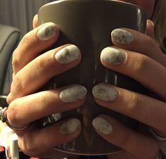 Happy new nails #marble #nailart #gelpolish