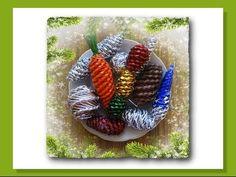 Ёлочные игрушки из бумажных трубочек - мастер-класс / Toys on the Christmas tree from paper tubes - YouTube
