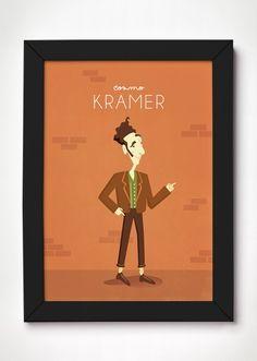 Poster Cosmo Kramer - Meu Adorável Iglu