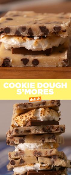 Goodbye, Graham! Cookie Dough S'mores Are EVERYTHING  - Delish.com