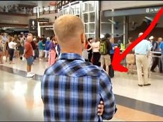 Marine anxiously waits to reunite with the battle buddy who saved his life (VIDEO) » DogHeirs | Where Dogs Are Family « Keywords: family homecoming, military reunion