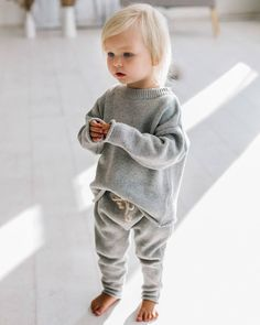 Rainbow speckle jumper & pants in grey. Still available in size 3 years. Full restock coming soon! Little Fashion, Fashion Kids, Baby Girl Fashion, Toddler Fashion, Winter Fashion, Guy Fashion, Baby Outfits, Jumper Pants, Moda Kids