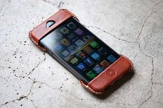 Hide Pocket Phone Cases - The Roberu Leather iPhone Case Frames Your Smartphone (GALLERY)