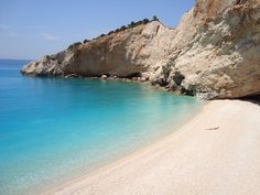 Porto Katsiki, Leykada, Greece - empty & wonderful in mid-May Best Vacations, Vacation Destinations, Vacation Trips, Vacation Spots, Expedia Travel, Best Beaches In Europe, Sand And Water, Wonderful Life, Beach Travel