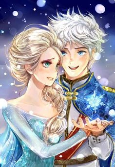 Jack and Elsa are totally perfect together.