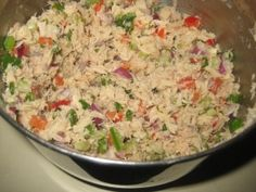 tuna salad italian style candida diet lent recipes ALSO excellent reference site with info on stages of the diet.