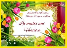 La multi ani Vasilica
