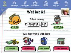 Geldrekenen (gratis):   https://itunes.apple.com/nl/app/kidz-n-cash/id577771212?mt=8