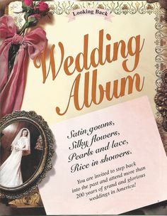 American Girl Magazine - January 1993/February 1993 Issue - Page 20 (Part 1 of Looking Back - Wedding Album)