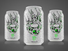 Packaging of the World: Creative Package Design Archive and Gallery: Monster Energy Drink (Concept)