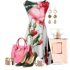 Spring for love by kginger on Polyvore