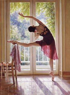 GUAN ZEJU, Selected Ballet Paintings in Oil