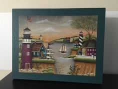 New England Scene by Georgannself on Etsy
