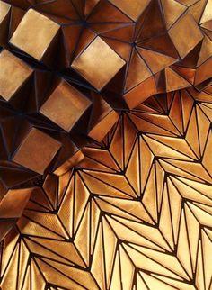 Architectural texture origami