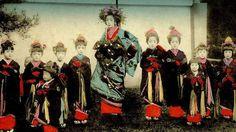 1900−1915年に活躍した花魁