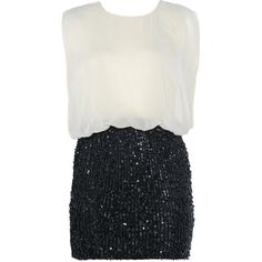 AX Paris Contrast Sequin Dress and other apparel, accessories and trends. Browse and shop 45 related looks.