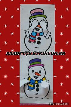 Peekaboo Snowmen