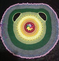 'Colete Íris'- padrão da ravelry.com feito por mim