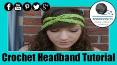 Crochet Headband Twist Tutorial Easy