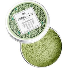RitualiTea Matcha Madness Revitalizing Powder Face Mask with Matcha... ($36) ❤ liked on Polyvore featuring beauty products, skincare, face care, face masks, green tea face mask and green tea facial mask