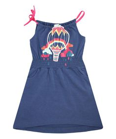 Look at this Navy Umbrella Penny Organic Dress - Infant, Toddler & Girls on #zulily today!