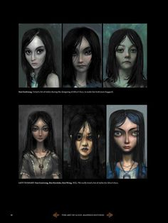 Alice In Wonderland Artwork, Spooky Games, Scary Games, Alice Madness Returns, Final Fantasy Legend, Alice Liddell, Inside Art, Shadow Of The Colossus, Monster Concept Art