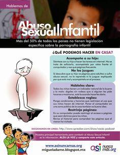Abuso Sexual Infantil Nunca Más.: Hablemos de Abuso Sexual Infantil.
