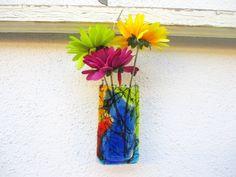 Подвесные фьюзинг вазочки Glass Action Studio