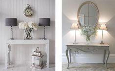 decoracion recibidor Entryway Decor, Entryway Tables, Oversized Mirror, Loft, Corridor Ideas, Furniture, Room Decorations, Home Decor, Coffee
