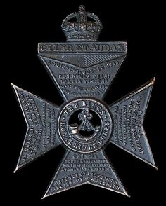 The badge of the King's Royal Rifle Corps