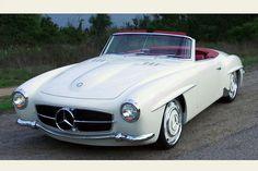 Mercedes Benz SL. Pure beauty.