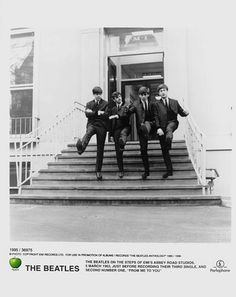 I have stood on those steps at Abbey Road studios AWESOME feeling!