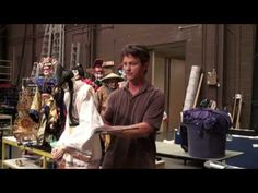 Michael Curry Demonstrates His Nightingale Puppets