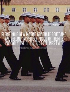 Marine Corps graduation, couldn't be more accurate. Watching my younger brother graduate was one of the BEST days ever! I am so so proud of you Bub