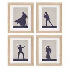 Computer Generated Art Project Idea: Set of 4 Star Wars Character Of Your Choice