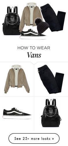 """vans"" by fandomgirl46 on Polyvore featuring Avon, Vans and Miss Selfridge"