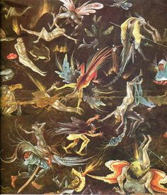 Hieronymus-bosch images | Winged Demons - Hieronymus Bosch Paintings wallpaper image
